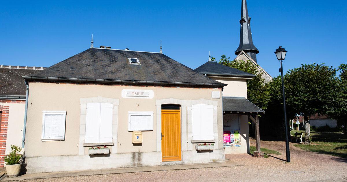Mairie de la chapelle forainvilliers