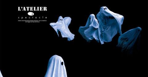 Affiche spectacle La Bazzoka, fantomes